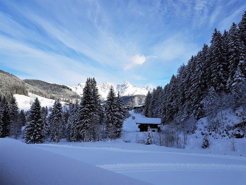 Schnee und Sonne im Tennengau bzw. Salzburger Land