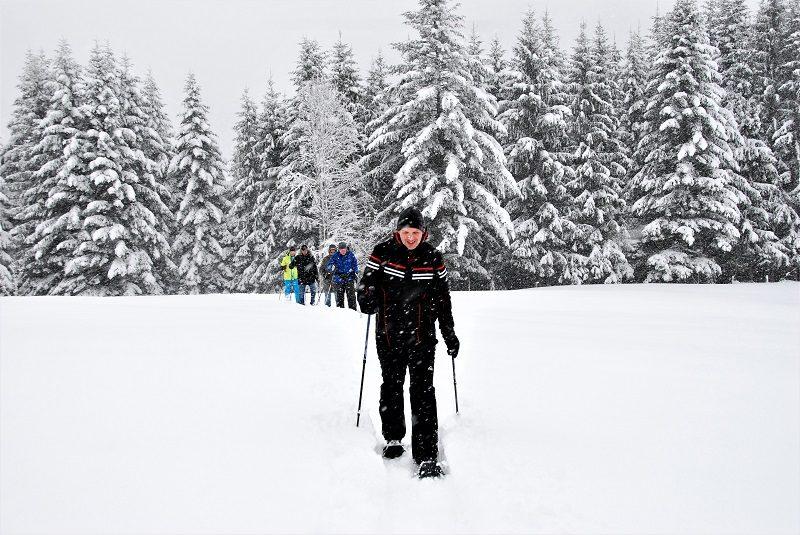 Schneeschuhwandern im Tennengau bzw. Salzburger Land