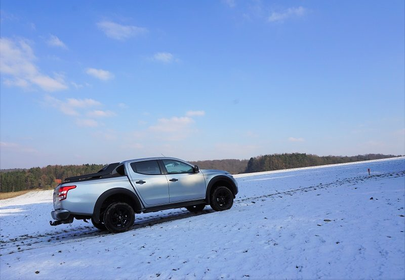 Fiat Fullback Cross - Offroad im Schnee