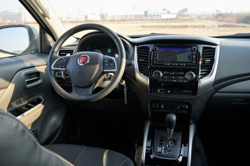 Fiat Fullback Cross - innen