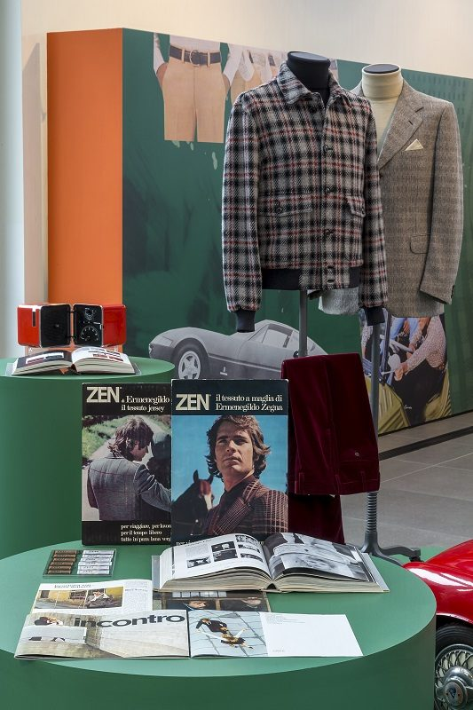 CASA ZEGNA Uomini all'italiana
