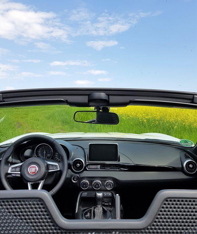 Fiat 124 Spider S-Design - Innen