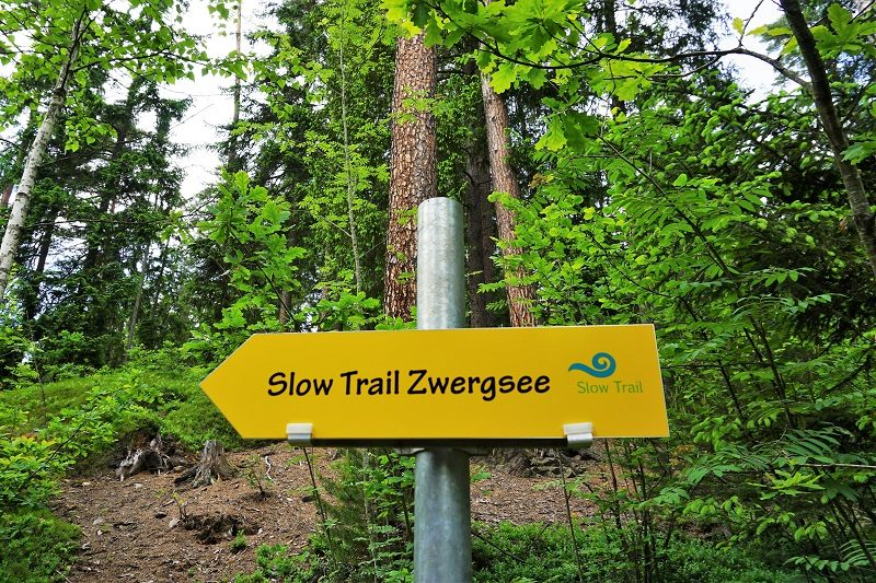 Slow Trail - Zwergsee in Kärnten