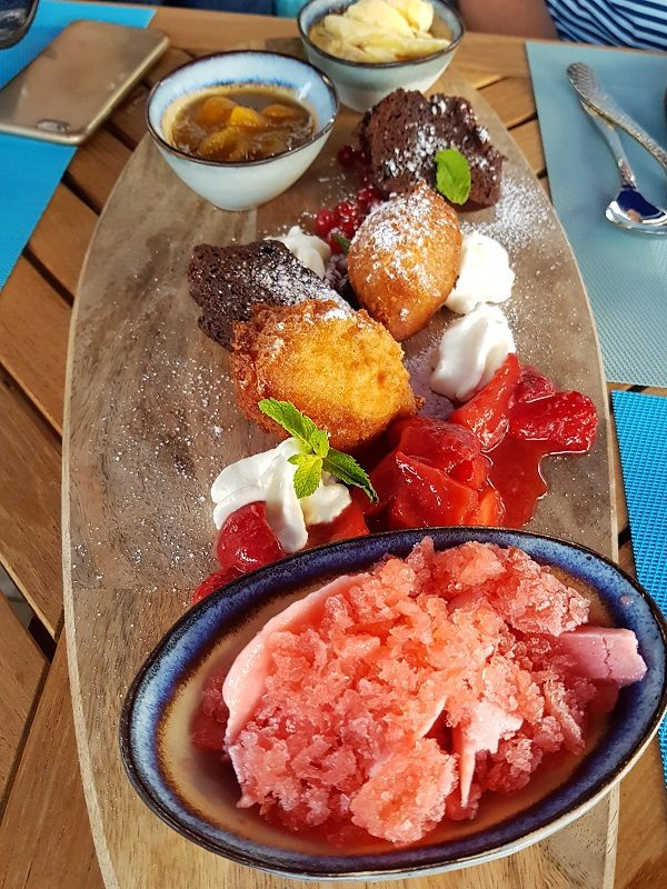 Essen im Beach House in Velden - Kärnten