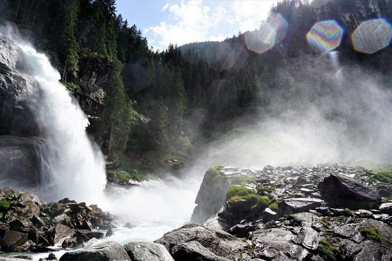 Krimmler Wasserfälle im Salzburger Land