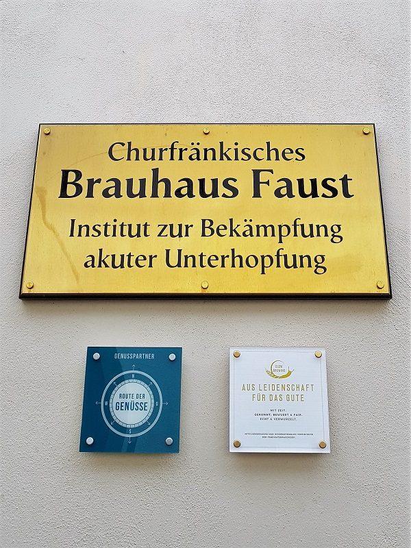Brauerei Faust in Miltenberg - Churfranken