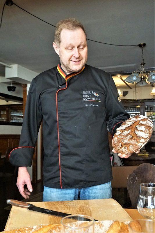 Brotsommelier Volker Mayer von der Bäckerei Mayer´s Bäck - Churfranken