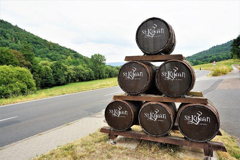 Eingang der St. Kilian Distillers in Rüdenau - Churfranken