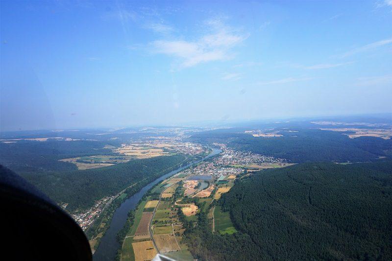 In der Luft über Churfranken - mit Peter Duffeck