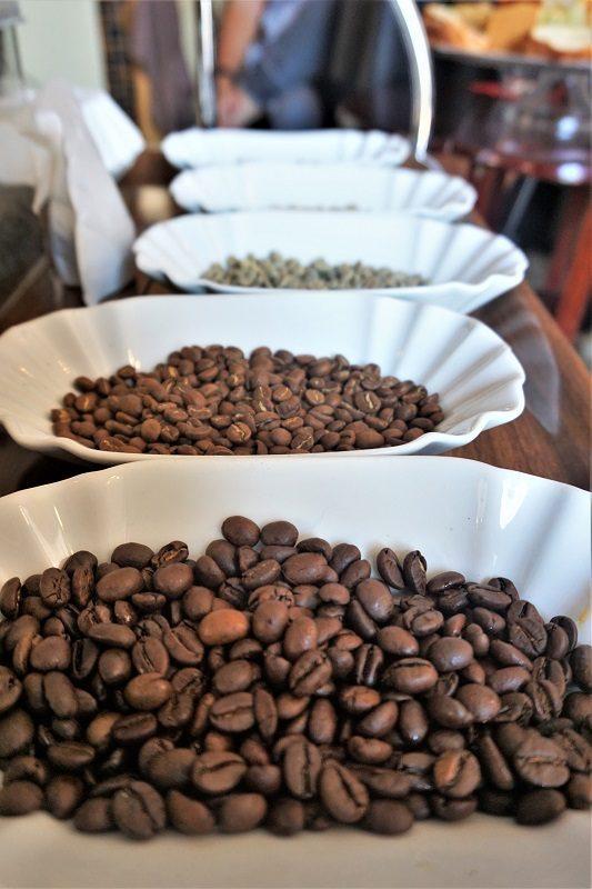 Kaffeebohnen bei Kaffee-Sommelière Megi Schmitt - Churfranken