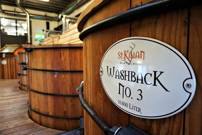 Washback der St. Kilians Distillery in Rüdenau - Churfranken