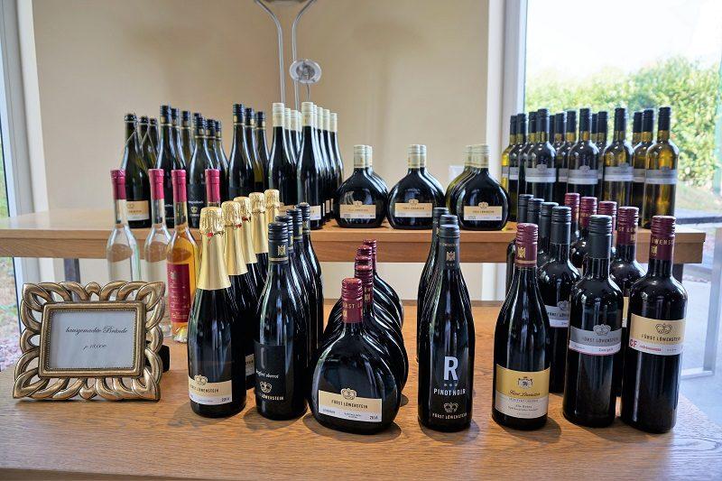 Wein vom Schloss Löwenstein - Churfranken