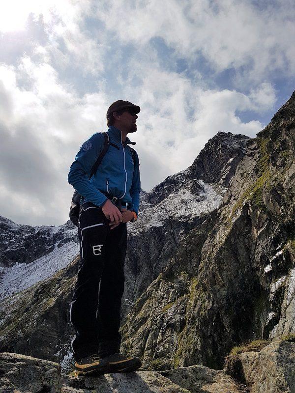 Alfred (Alfi) Dworak von der Bergführervereinigung Pitztal