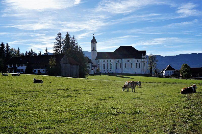 Die Wieskirche - Pfaffenwinkel