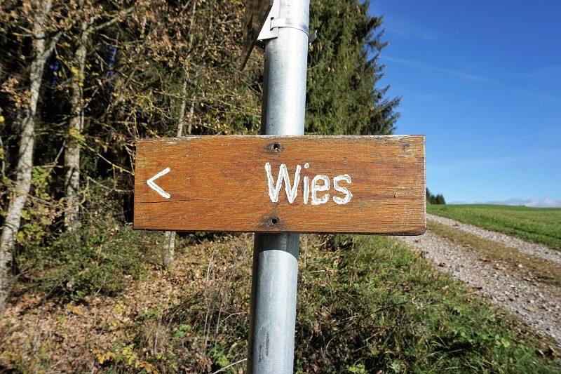 Landschaft Zur Wies Richtung Wieskirche - Pfaffenwinkel