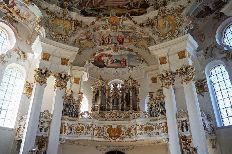Orgel in der Wieskirche - Pfaffenwinkel