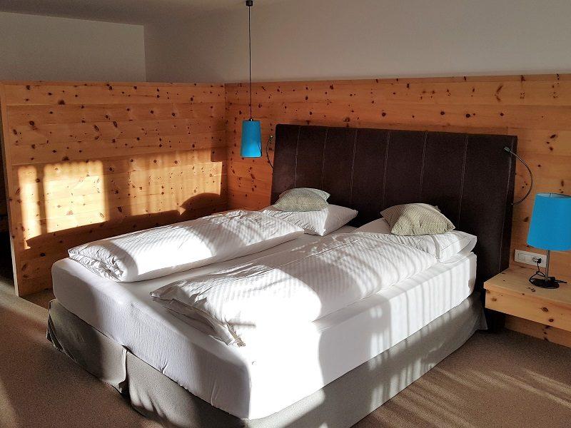 Zimmer im Hotel Cristal in Obereggen