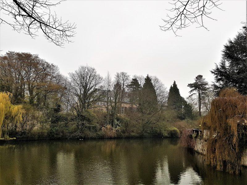 Detmold - Blick aufs Schloss