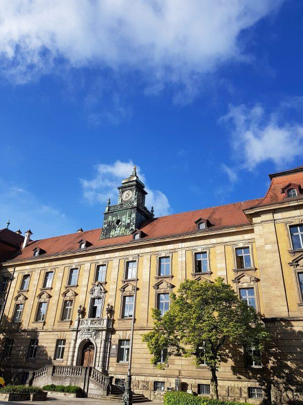 Gerichtsgebäude in Schweinfurt - Außenansicht