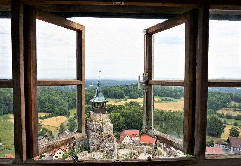 Burg Hohenstein im Nürnberger Land - Aussicht