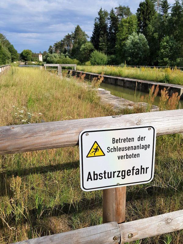 Ludwig-Donau-Main-Kanal - alte Schleuse