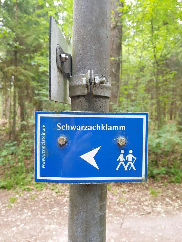 Schwarzachklamm im Nürnberger Land