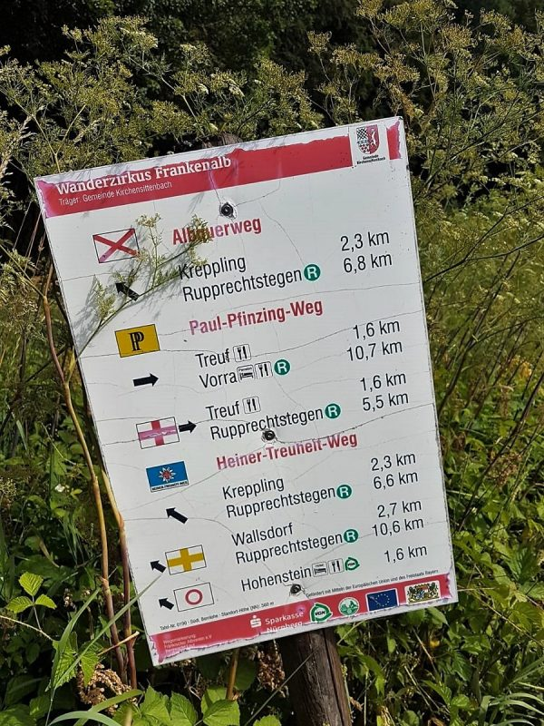 Wandern im Nürnberger Land