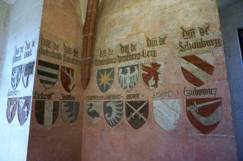 Wenzelschloss und Wappensaal in Lauf an der Pegnitz