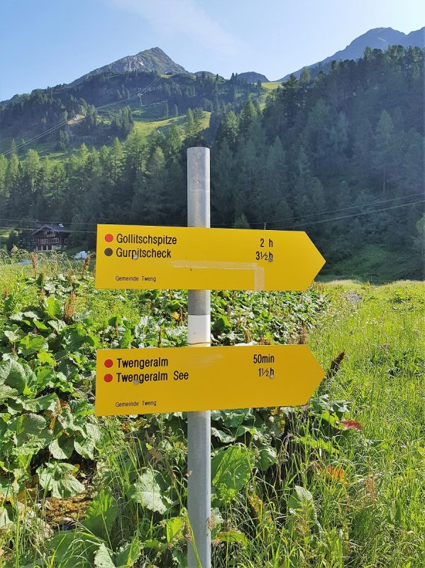5-Seen-Tour in den Niederen Tauern - Start - Salzburger Lungau