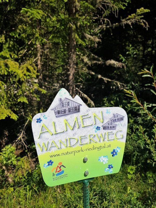 Almenwanderweg im Riedingtal - Salzburger Lungau