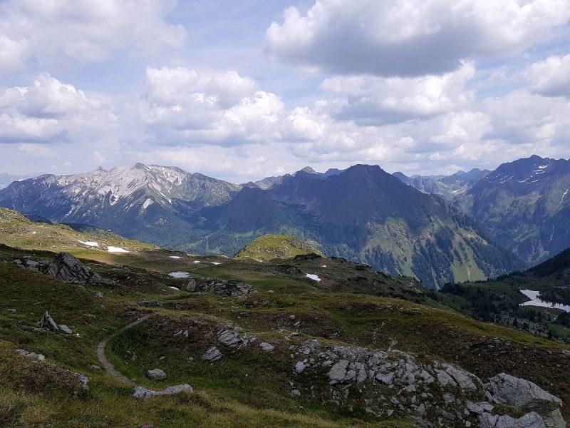 Gollitsch-Scharte mit Blick ins Weißpriachtal - Salzburger Lungau