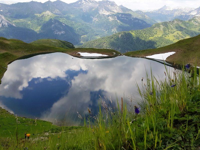 Twenger Almsee im Salzburger Lungau