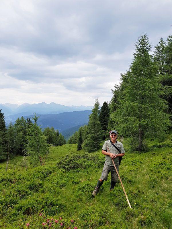 Wanderung mit Bernhard vom Häuserl im Wald - Salzburger Lungau