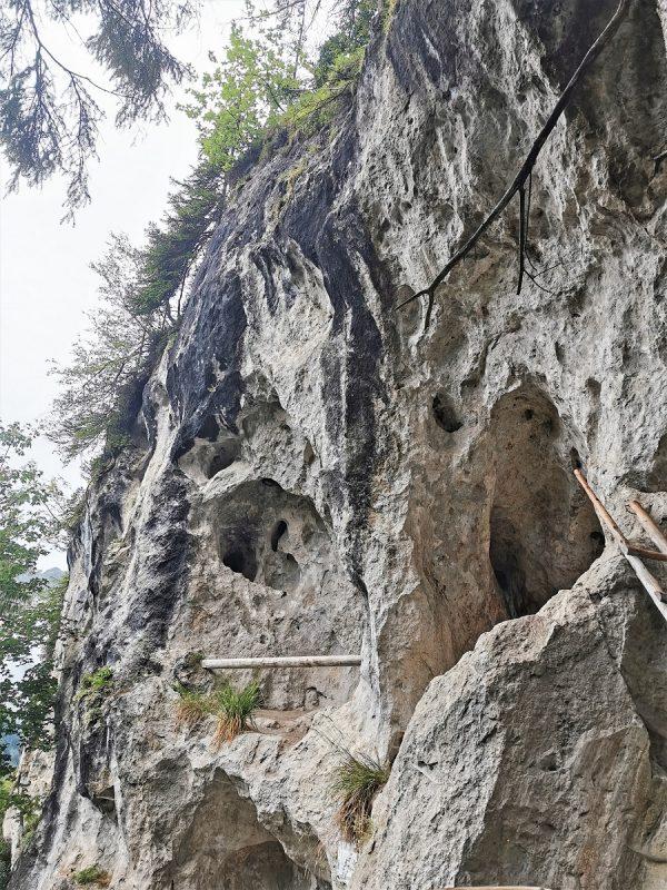 Aufstieg zur Willersalpe - Ausblick Wildfräuleinstein - Grenzgänger