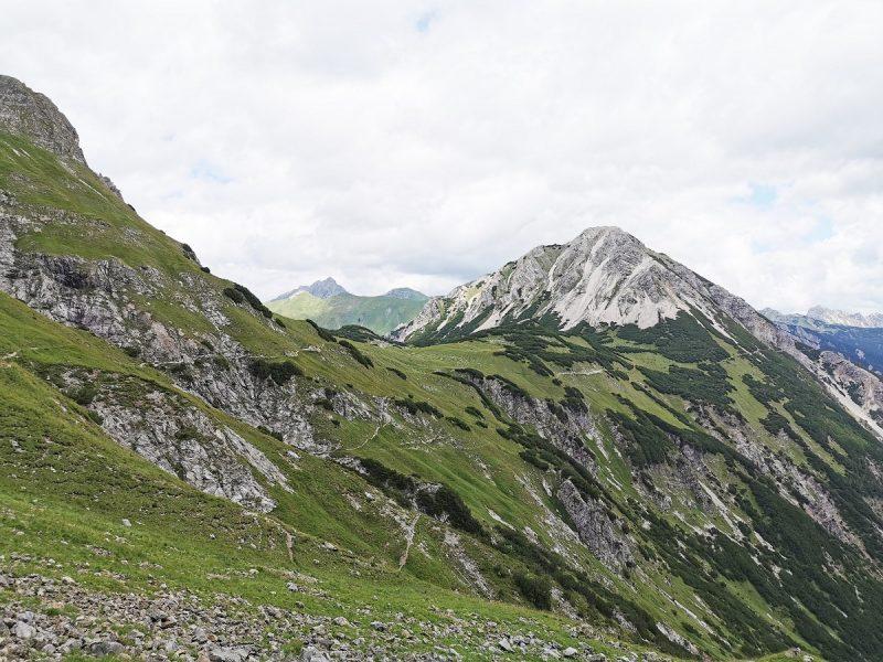 Rückweg Richtung Giebelhaus - Grenzgänger