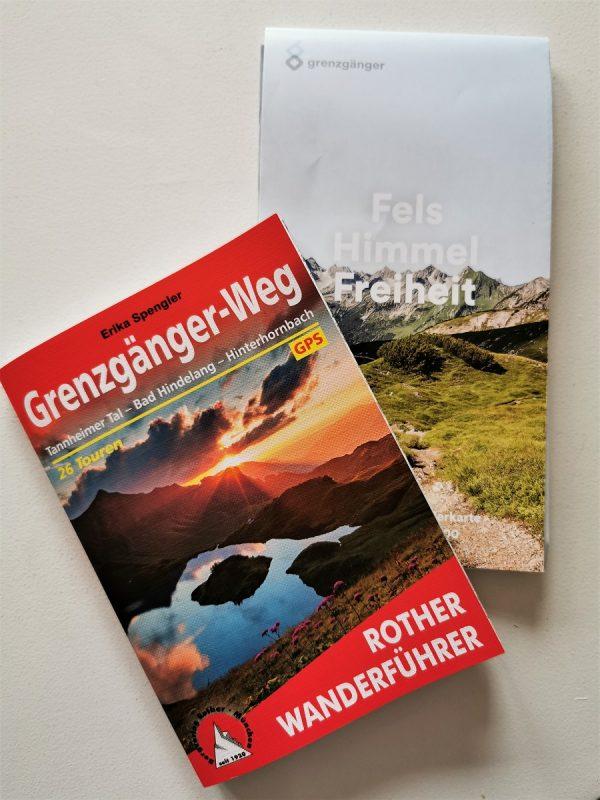 Wanderkarten Grenzgänger im Allgäu