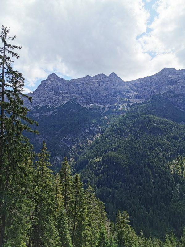Aussicht auf der Bärenbadrunde in Hinterhornbach - Grenzgänger