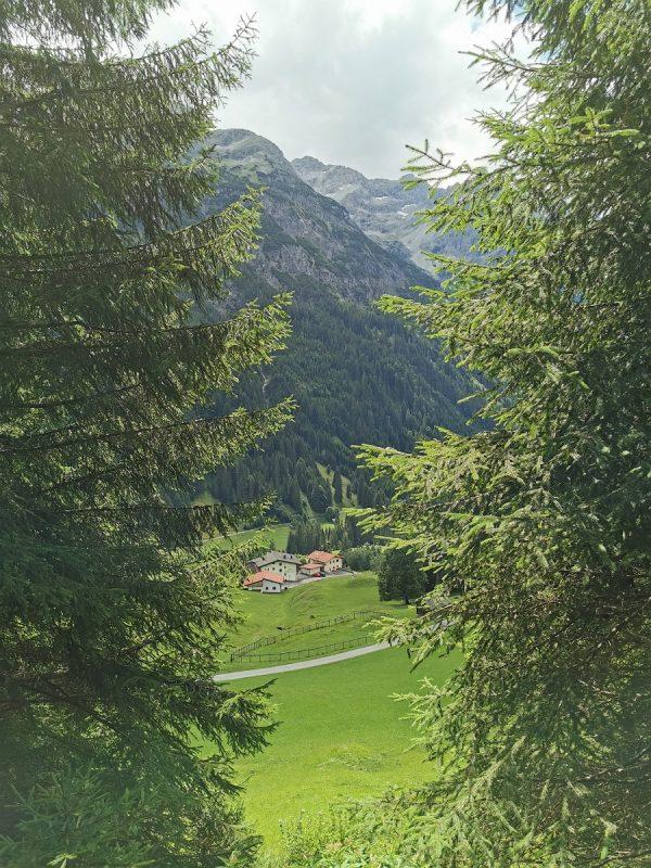 Aussicht auf der Bärenbadrunde in Hinterhornbach - Grenzgänger_2