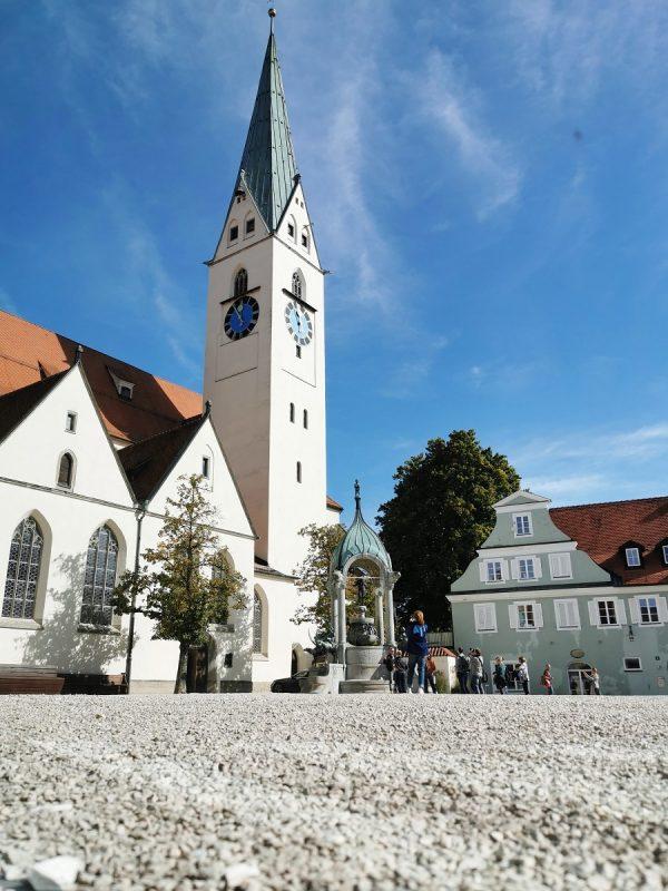 Abgang zur Erasmuskapelle in Kempten