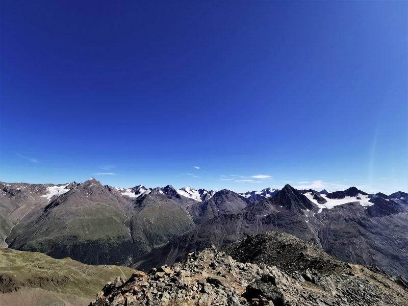 Aussicht beim Aufstieg zum Urkundholm