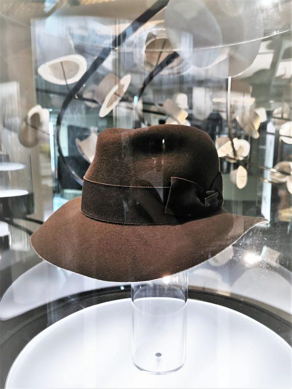 Hut von Indiana Jones im deutschen Hutmuseum Lindenberg