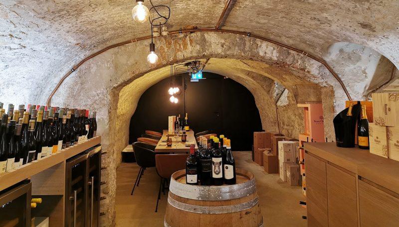 Weinkeller im Goldenen Fässle in Kempten