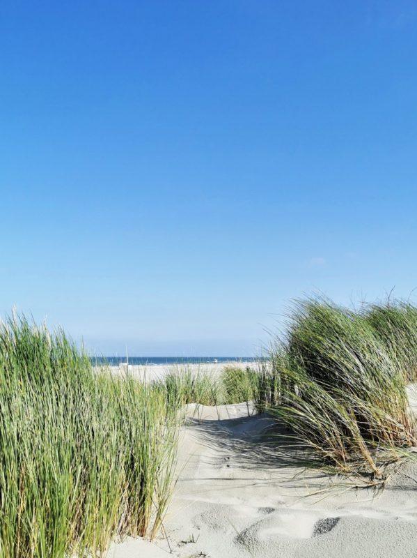 Strand auf Juist im Okrober 2019