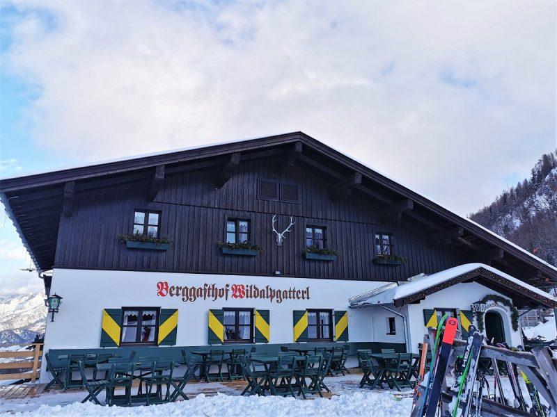 Der Berggasthof Wildalpgatterl in Fieberbrunn