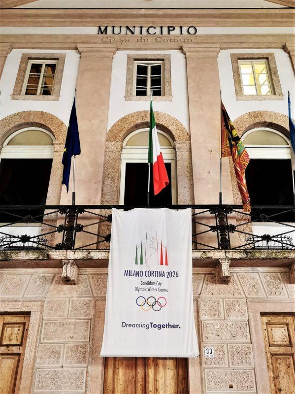 Die XXV. Olympische Winterspiele in Cortina d'Ampezzo