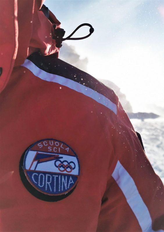 Scuola Sci Cortina in Cortina d'Ampezzo - mit den olympischen Ringen