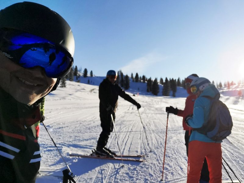 Skifahren im Skigebiet Faloria-Cristallo - Cortina d'Ampezzo