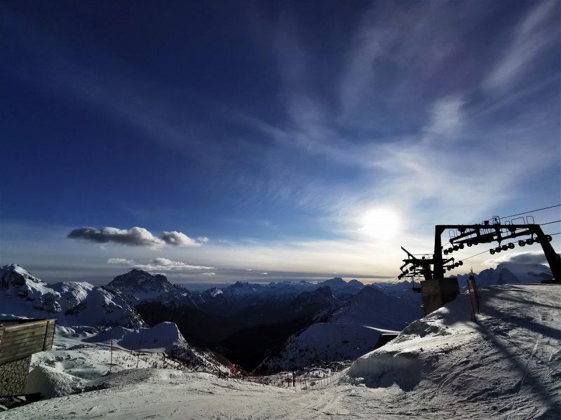 Skigebiet um die Cinque Torri in Cortina d'Ampezzo