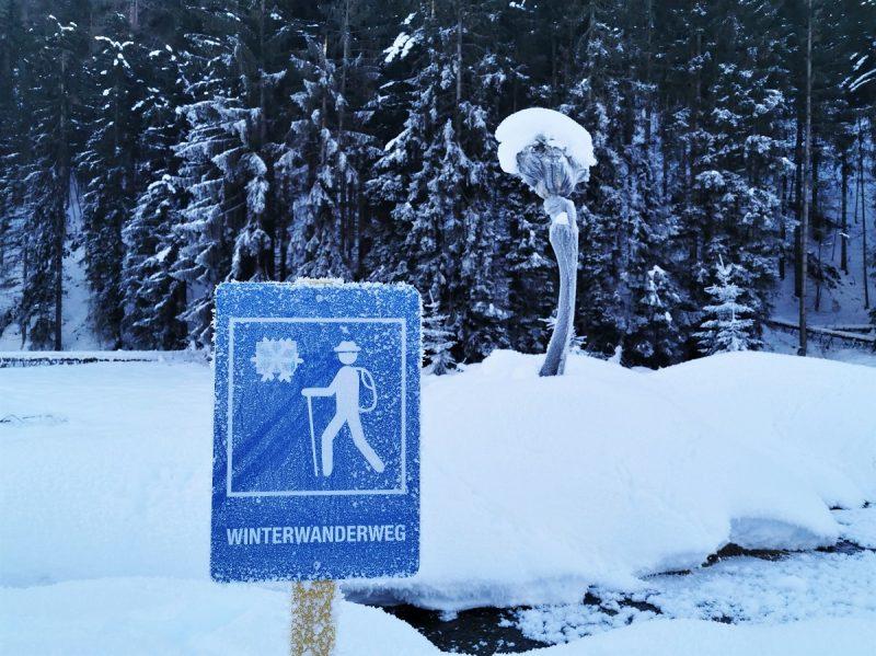 Spaziergang zum Heilwasserhaus -Deferegger Heilwasser