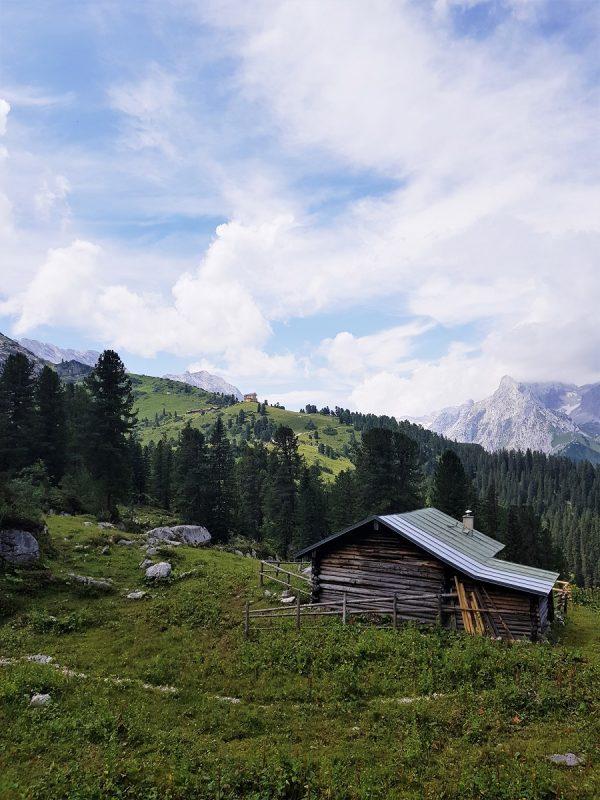 Aufstieg zur Meilerhütte bei Garmisch-Partenkirchen